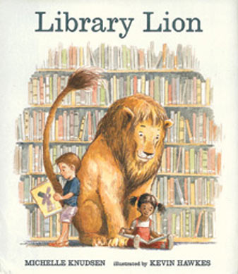 library-lion